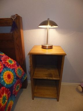 Custom Made Solid Wood Night Stand
