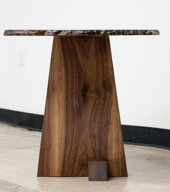 Custom Made Burl End Table