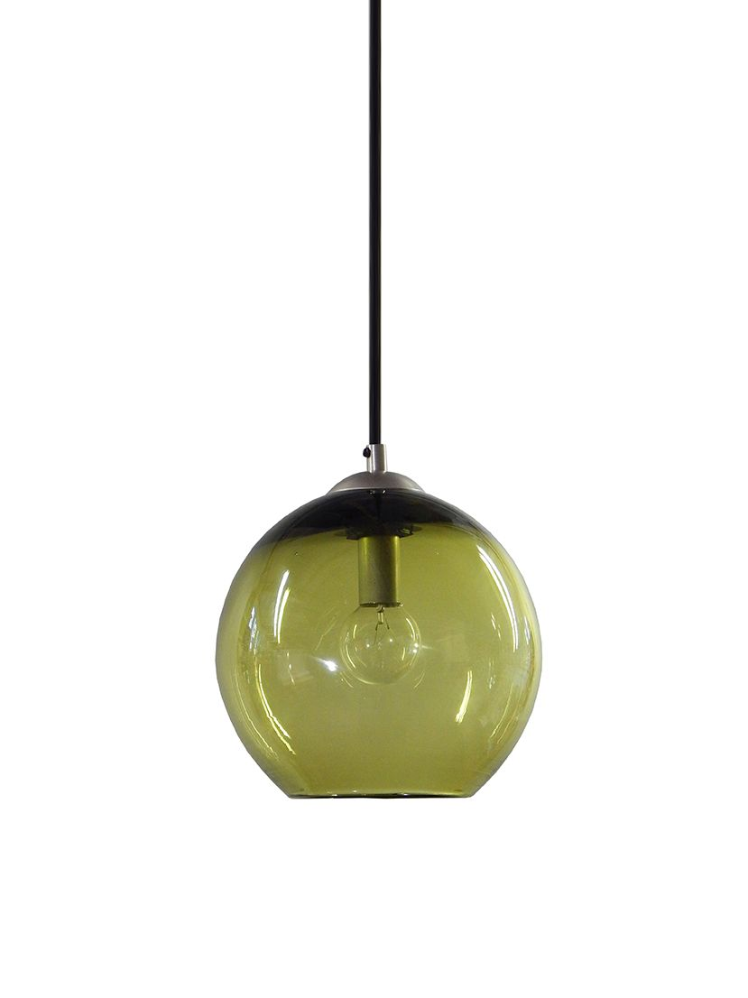 Custom Made Olive Hand N Gl Pendant Lighting Bubble Light In Usa