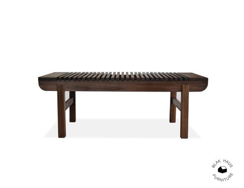 Custom Made Slat Bench
