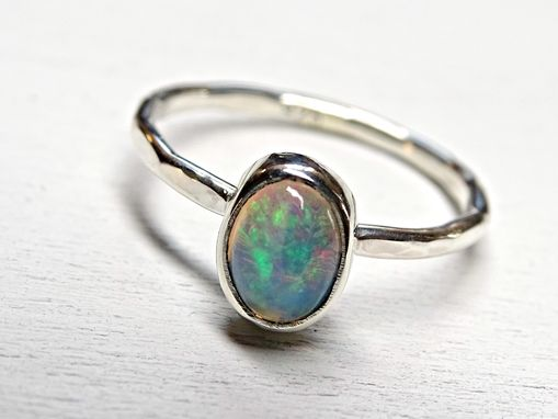 rings listing enagegement ring rose gold opal il engagement