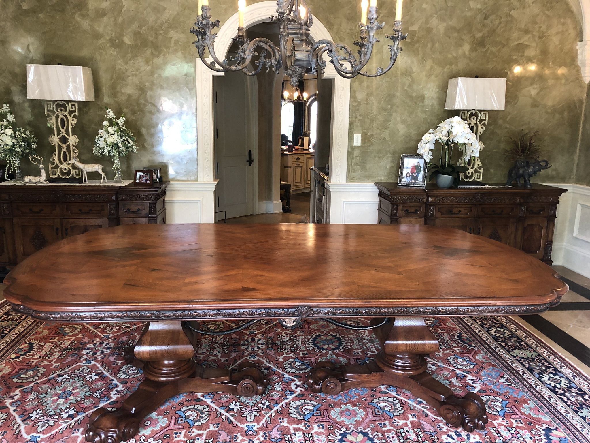 Custom Made Spanish Dining Table By Weck Design Custommade Com