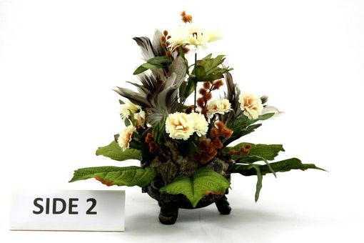 Custom Made Unique Silk Flower Arrangement Table Centerpiece, Home Decorating Ideas