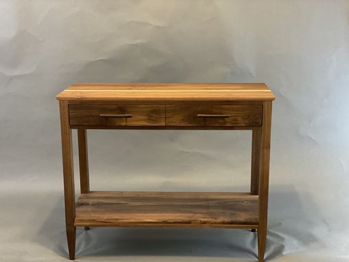 Custom Made Two Drawer Accent Table