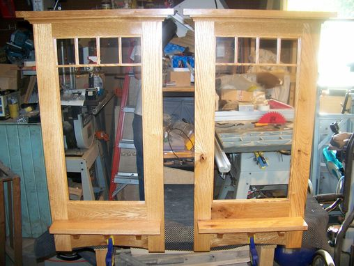 Custom Made Wall Mirror Craftman Style
