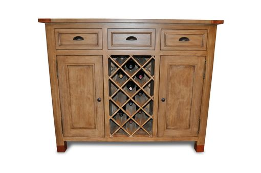 Custom Made Duckworth Wine Cabinet