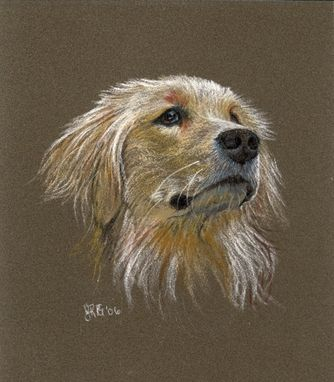 Custom Made Commission Portraits In Soft Pastel On Ampersand Pastelbord