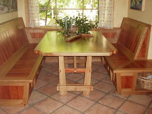 Custom Made Custom Table And Benches