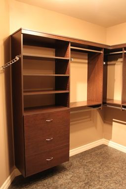 Hand Crafted Custom Walk In Closet By Peace Country Custom