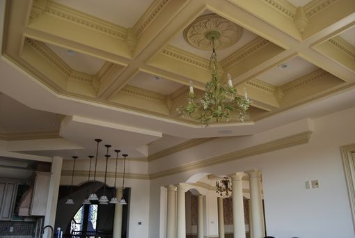 Custom Made Coffered Ceilings