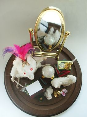 Custom Made Fantasy Mouse Taxidermy Tableaux