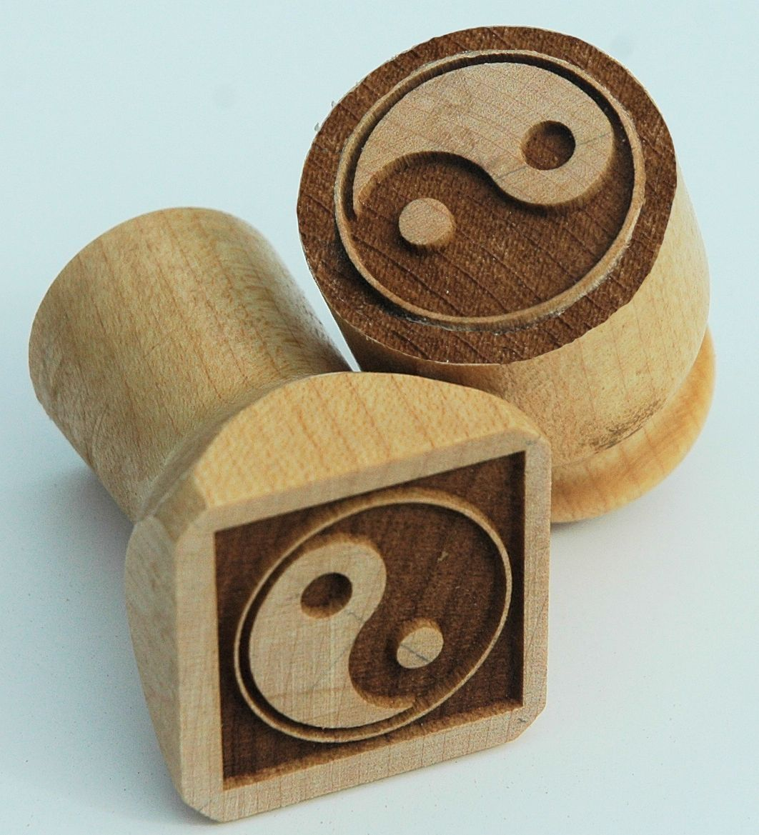 Custom Wooden Ink Blocks And Stamps By Mountain Woodworker