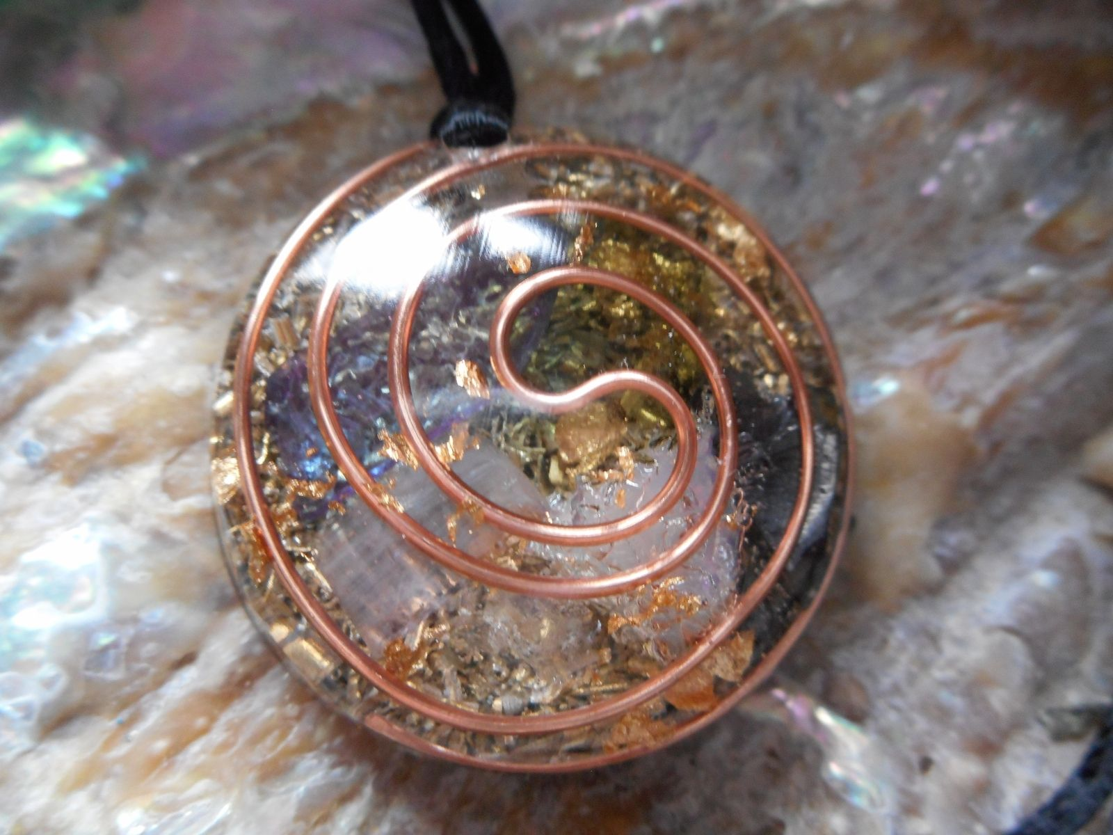 Hand made orgone life energy pendants by spiralapis custommade custom made orgone life energy pendants aloadofball Choice Image