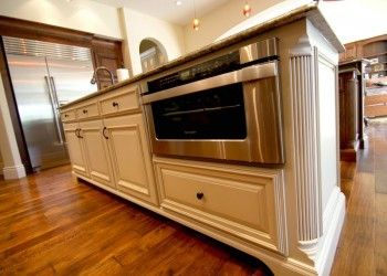 Custom Made Stained And Painted Kitchen