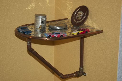 Custom Made Shelf - Copper