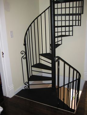 Custom Made Indoor Spiral Staircase