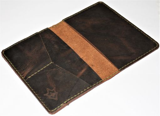 Custom Made Jp Leathercraft Handmade Passport Wallet Blackjack Crazyhorse Leather