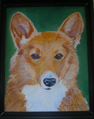 Custom Made Custom Dog Pet Portrait Of Boo