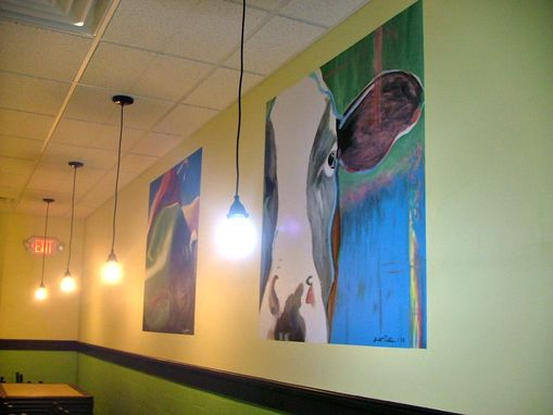 Custom Made Burger Restaurant Mural