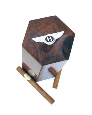 Custom Made Travel Humidor 18 (Bentley Design)