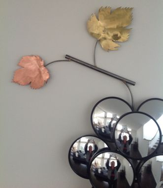 Custom Made Grape Wall Mirror