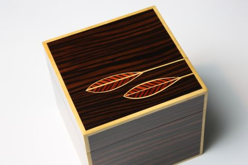 Custom Made Maccassar Ebony Box