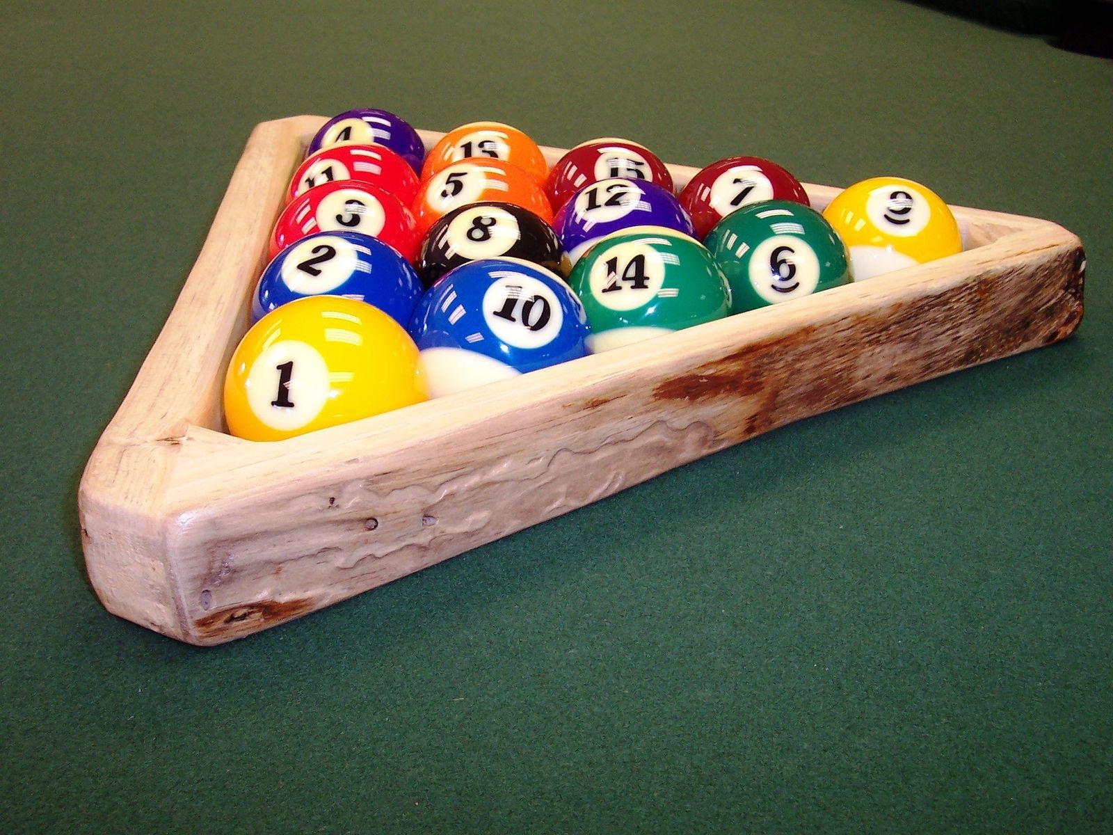Hand crafted rustic pool table accessories by baron 39 s billiards - Billiard table accessories ...