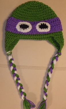 Custom Made Tmnt Inspired Earflap Hat