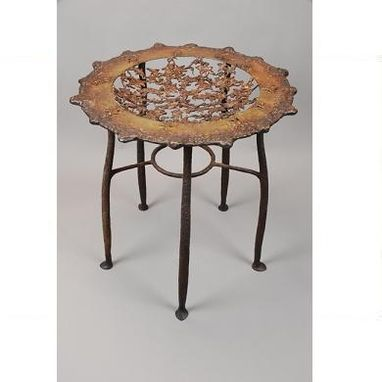 Custom Made Autumn Leaves Table