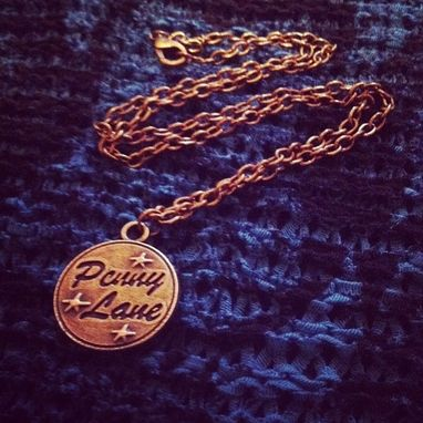 Custom Made Penny Lane Necklace - The Beatles Inspired Necklace