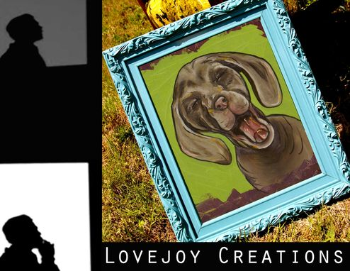 Custom Made Winston, Dog Portrait