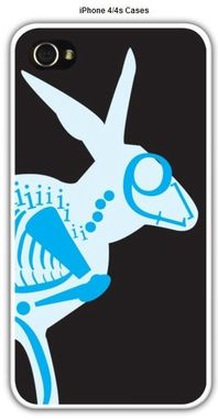 Custom Made Xray Rabbit Iphone 4 And Iphone 4s Case