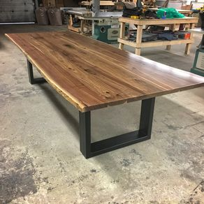 The Goliath Live Edge Walnut Dining Table Draft By Keven Higgins