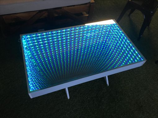 Custom Made Led Infinity Coffee Table