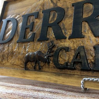 Custom Made Cabin Sign Custom Wood Sign Rustic Cabin Decor Man Cave Sign Camper Sign Lake House Décor