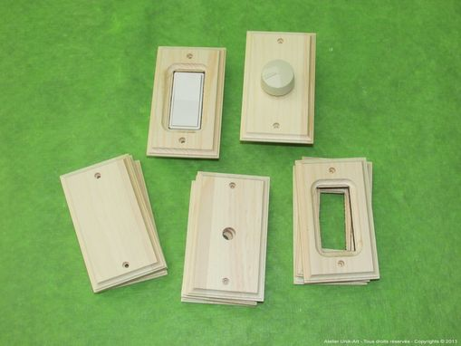 Custom Made Custom Wooden Electric Outlet Covers