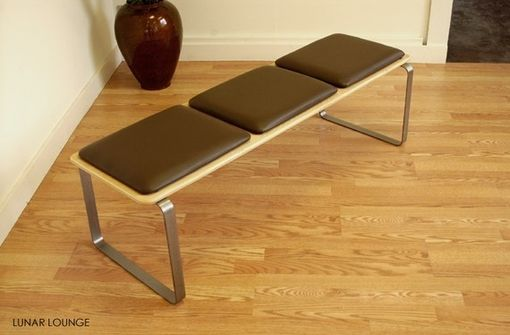 Custom Made Ply Bak Bench 3 Mid Century Modern Design
