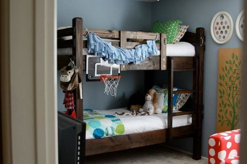 Custom Made Rustic Custom  Bunk Bed Design