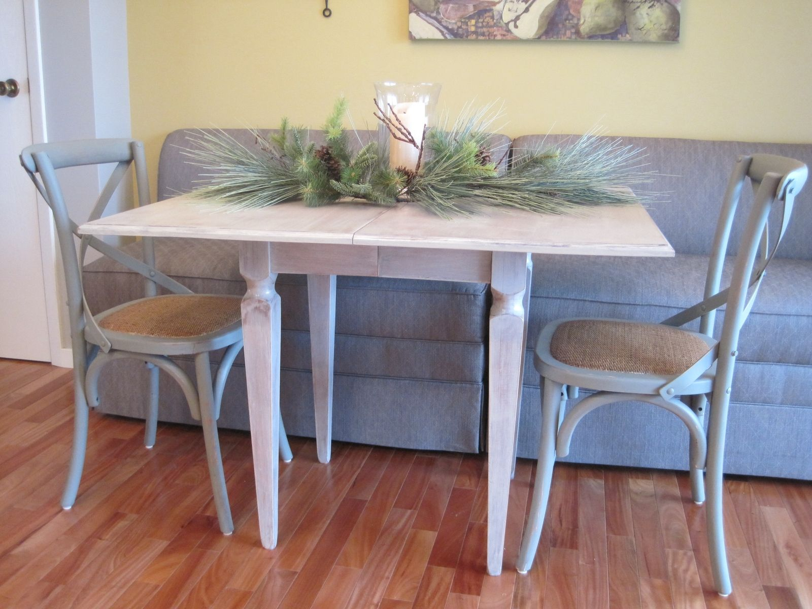 Custom Made 36 X 42 Pedestal Square Dining Table