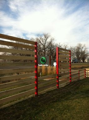 Custom Made Funkwerks Beer Garden Fences
