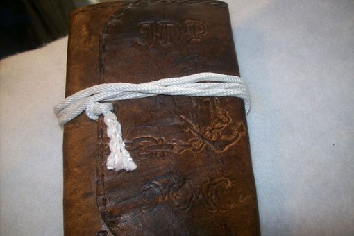 Custom Made Leather Captains/Passport Wallet
