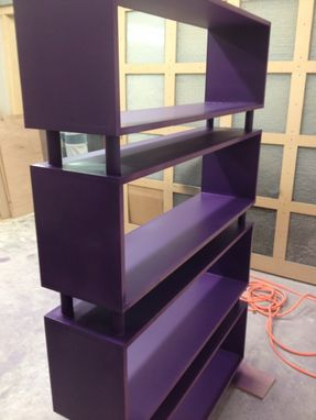 Custom Made Modern Bookcase