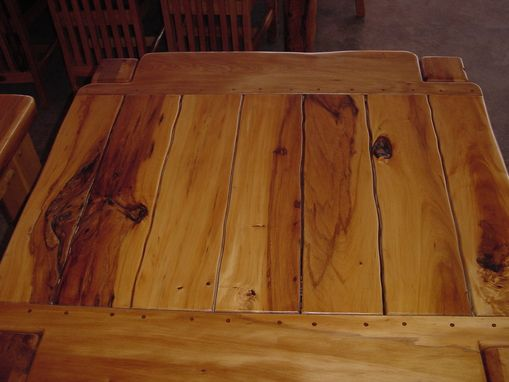Custom Made Dining Table 4 Seat Yellowood