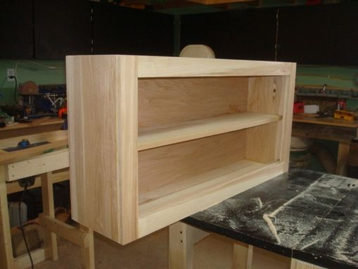Custom Made Hickory Cabinet