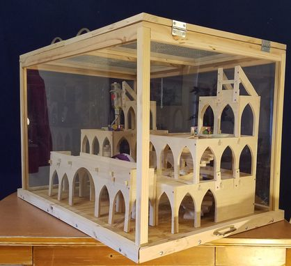 Custom Made Animal Cabinet / Pet Home