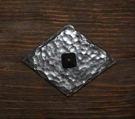 Custom Made Forged Iron Clavos, Diamond Shape Decorative Nails, Large Rustic Nailheads