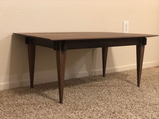 Custom Made Castle Joint Coffee Table