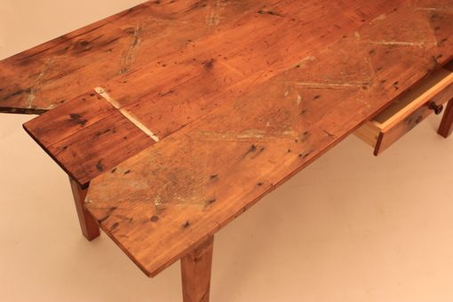 Custom Made Dt-61 Staircase Wall Top Farm Table