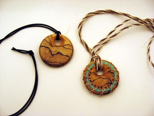 Custom Made Pendants, Jewlery, Necklaces, Earrings, Head Wear All From Wood, Stone And Other Exotic Materials.