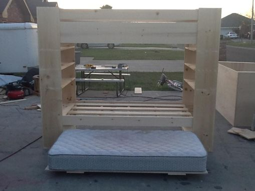Custom Made Triple Bunk Beds